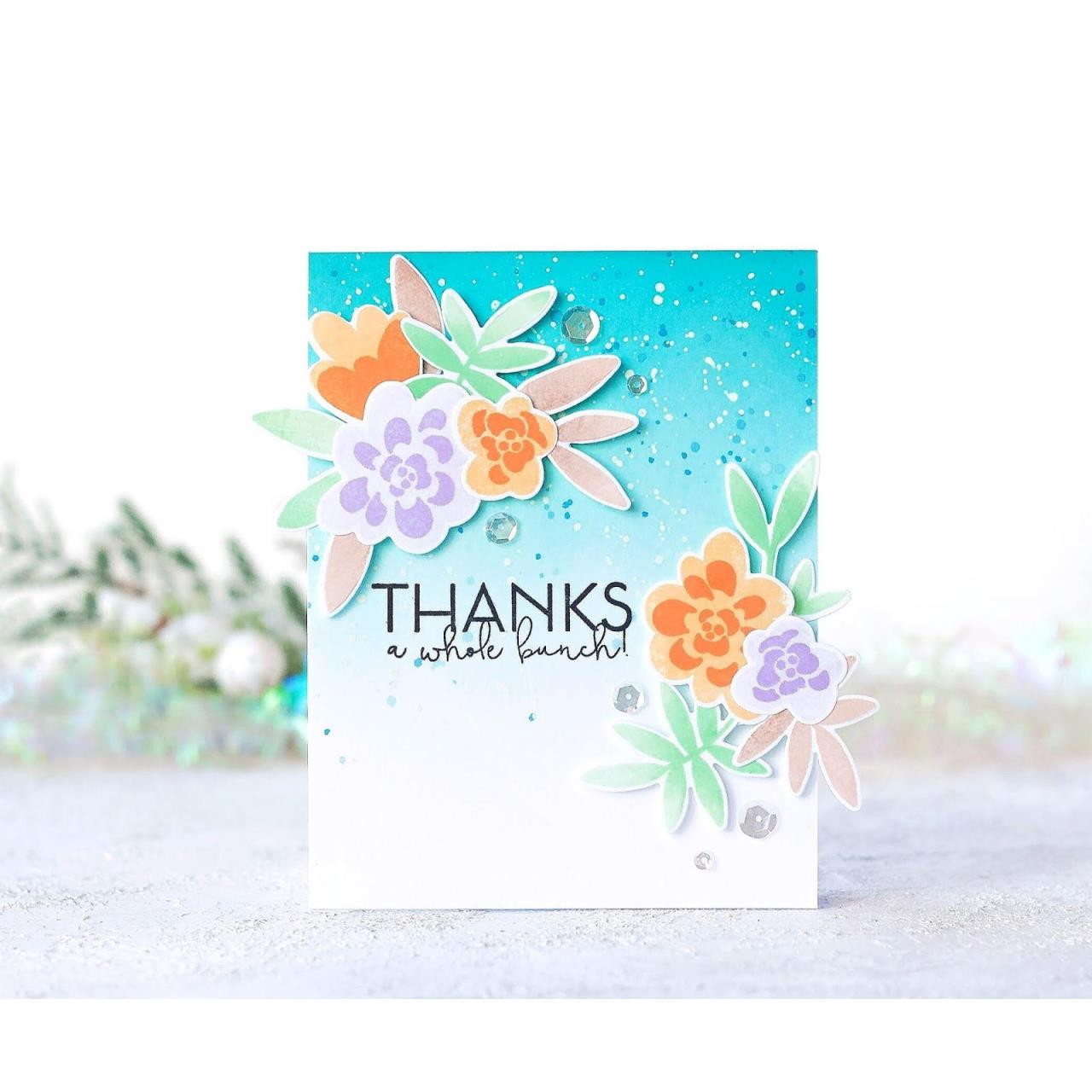 Bold Bunch, Altenew Clear Stamps - 704831299342