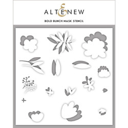 Bold Bunch, Altenew Mask Stencil - 704831299366