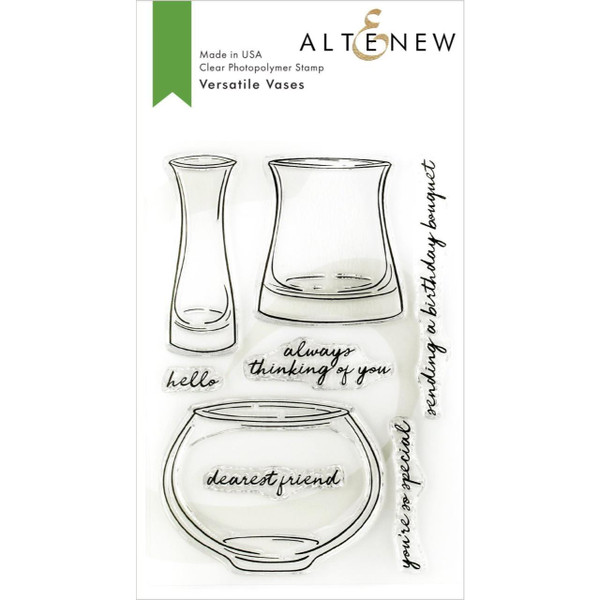 Versatile Vases, Altenew Clear Stamps - 704831299540