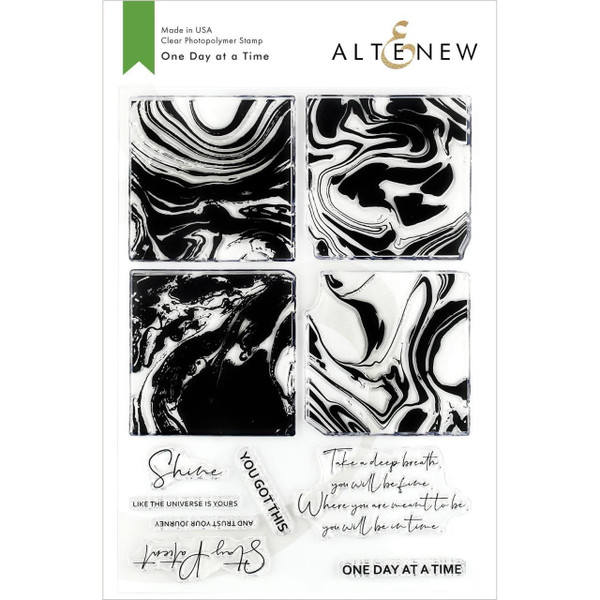 One Day At A Time, Altenew Clear Stamps - 704831299427