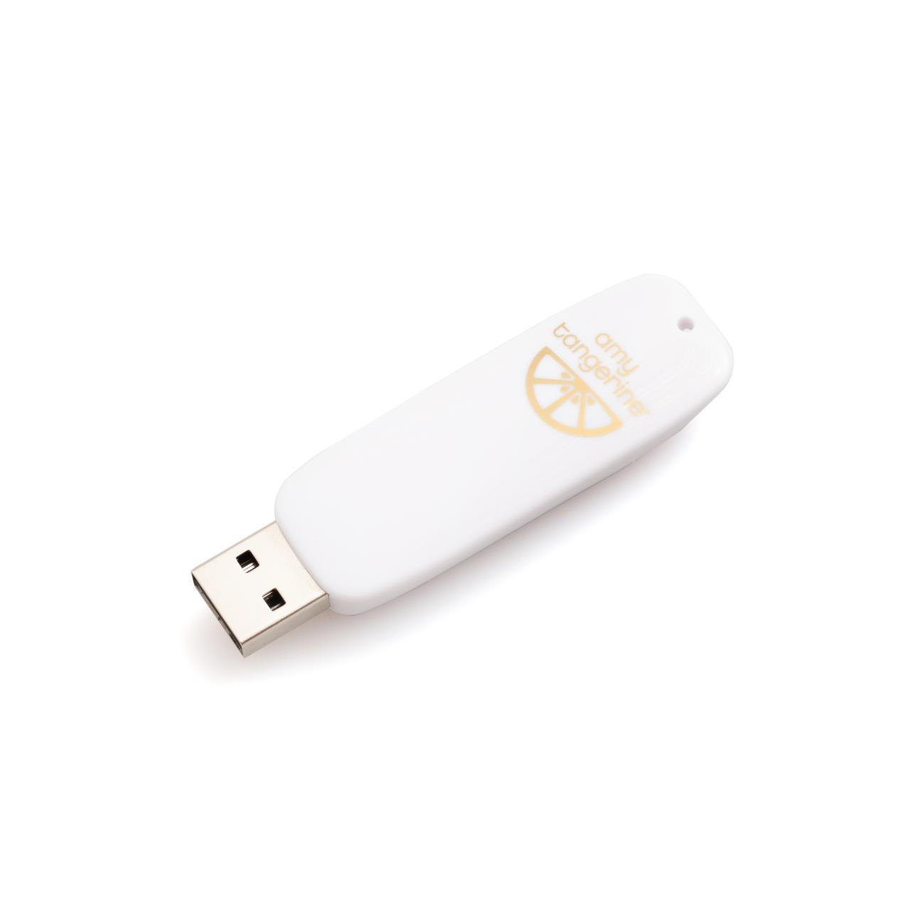 Amy Tangerine - Foil Quill USB Art, We R Memory Keepers - 633356606895