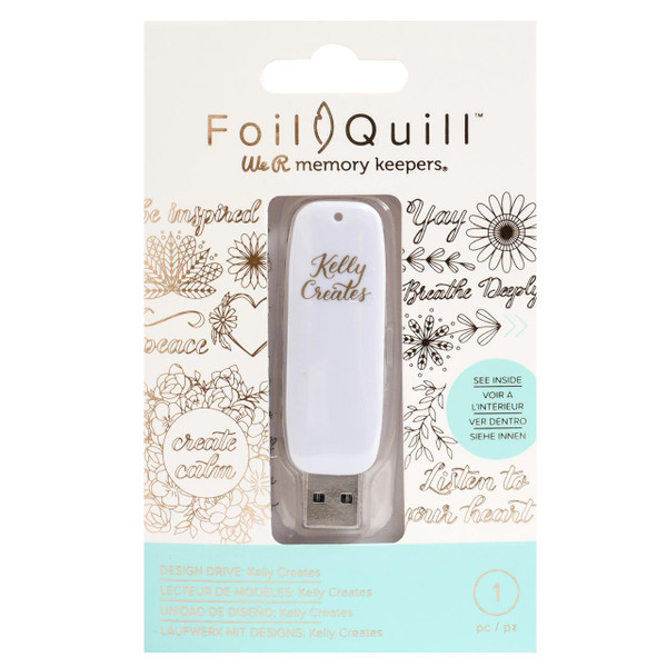 Kelly Creates - Foil Quill USB Art, We R Memory Keepers - 633356607212