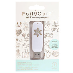 Holiday - Foil Quill USB Art, We R Memory Keepers - 633356606871
