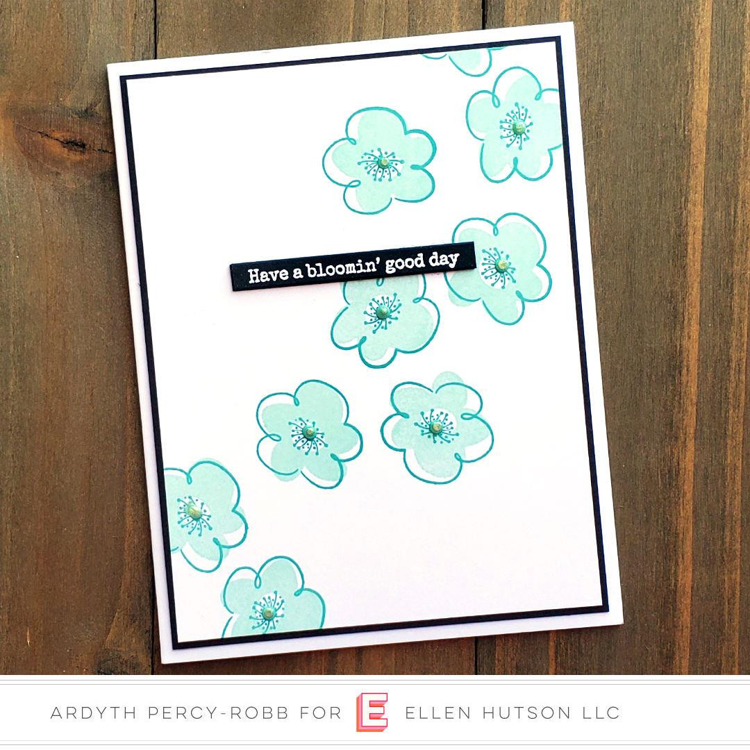 Everyday Doodles by Julie Ebersole, Essentials By Ellen Clear Stamps -