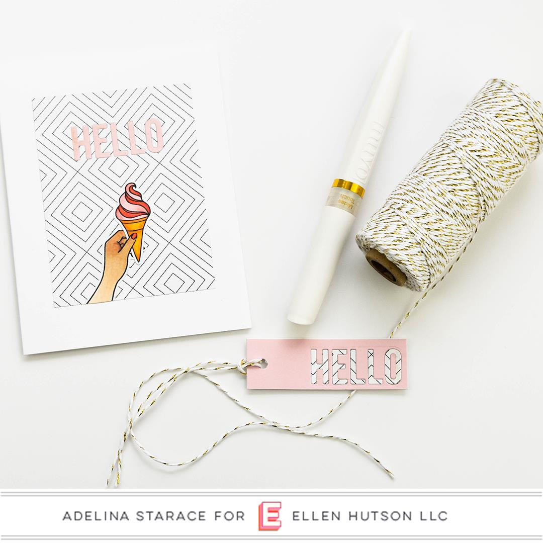 Handful by Julie Ebersole, Essentials By Ellen Clear Stamps -