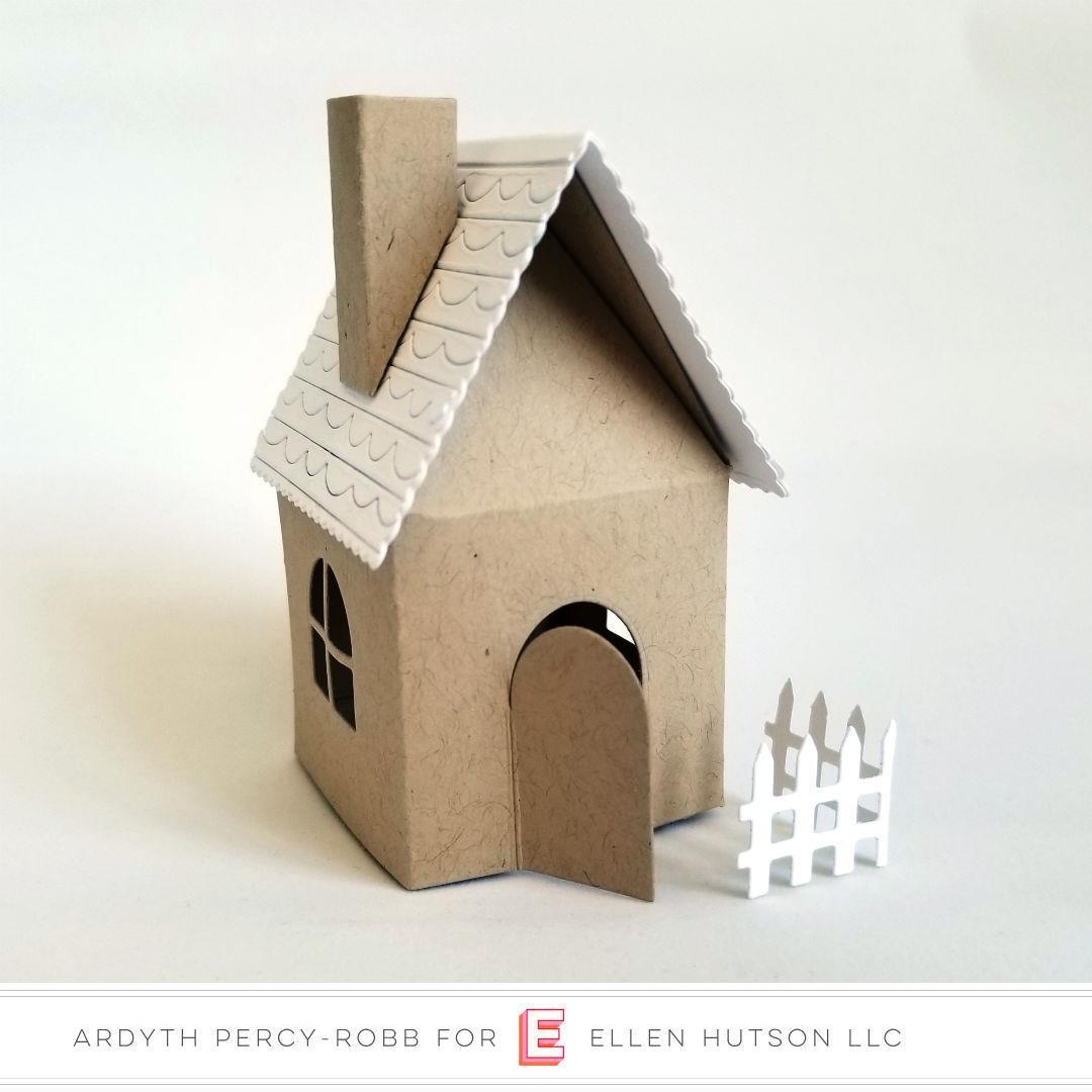 House Box Add-On by Julie Ebersole, Essentials By Ellen Designer Dies -