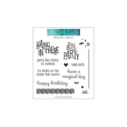 Piñata Party, Concord & 9th Clear Stamps - 902224001538