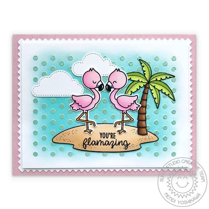 Sending Sunshine, Sunny Studio Clear Stamps - 797648687037