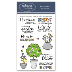 Garden Sentiments, Technique Tuesday Clear Stamps - 811784027776