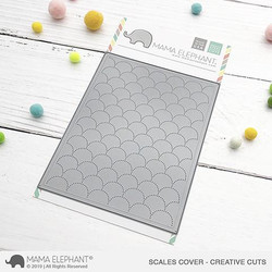 Scales Cover, Mama Elephant Creative Cuts -
