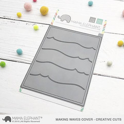 Making Waves Cover, Mama Elephant Creative Cuts -