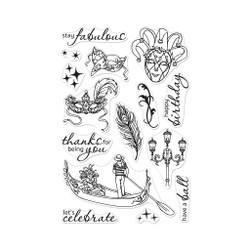 Carnevale, Hero Arts Clear Stamps - 857009216716