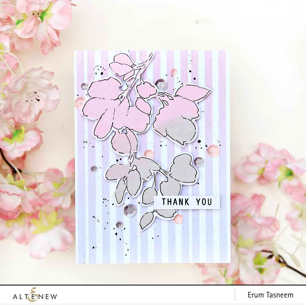 A Study In Watercolor, Altenew Clear Stamps - 704831300000