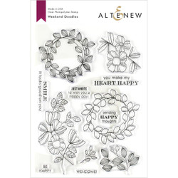 Weekend Doodles, Altenew Clear Stamps - 704831300208