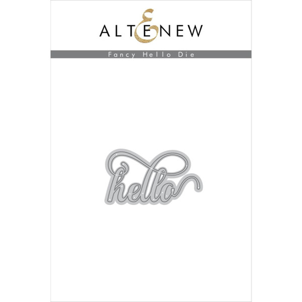 Fancy Hello, Altenew Dies - 704831300239