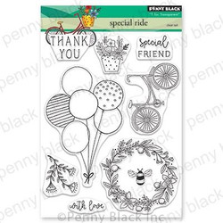 Special Ride, Penny Black Clear Stamps - 759668305513