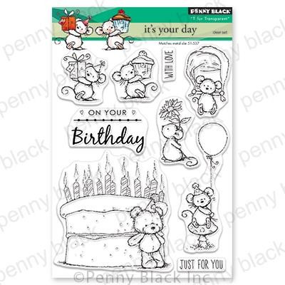 It's Your Day, Penny Black Clear Stamps - 759668305537