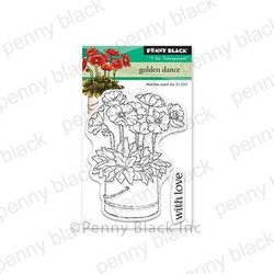 Golden Dance, Penny Black Clear Stamps - 759668305629