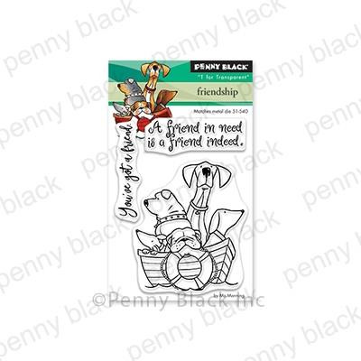 Friendship, Penny Black Clear Stamps - 759668305667
