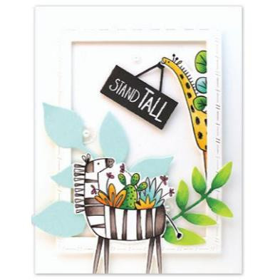 Be Happy, Penny Black Clear Stamps - 759668305834