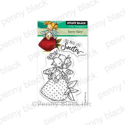 Berry Fairy, Penny Black Clear Stamps - 759668305674