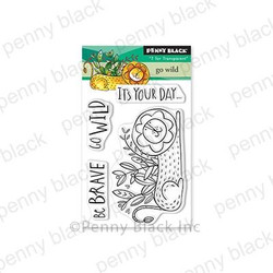 Go Wild, Penny Black Clear Stamps - 759668305858