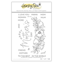 Mother's Day, Honey Bee Clear Stamps - 652827606738