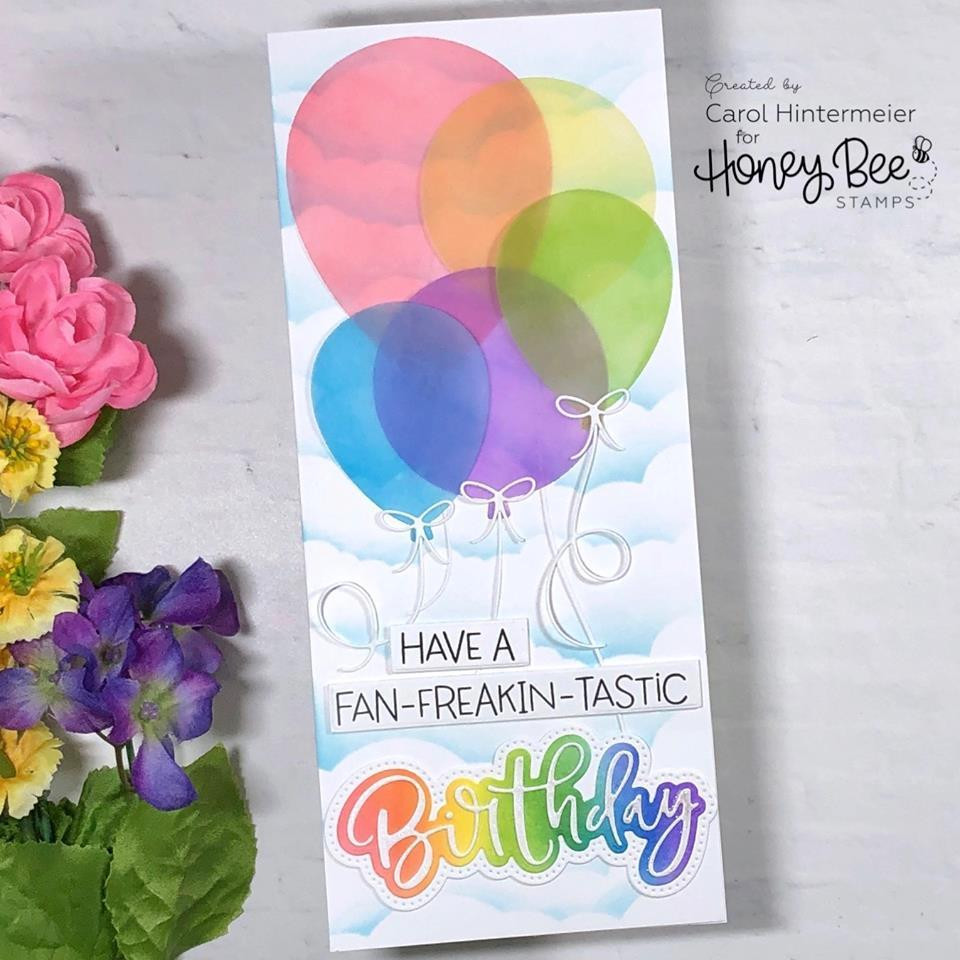 Happy Birthday, Honey Bee Clear Stamps - 652827606370