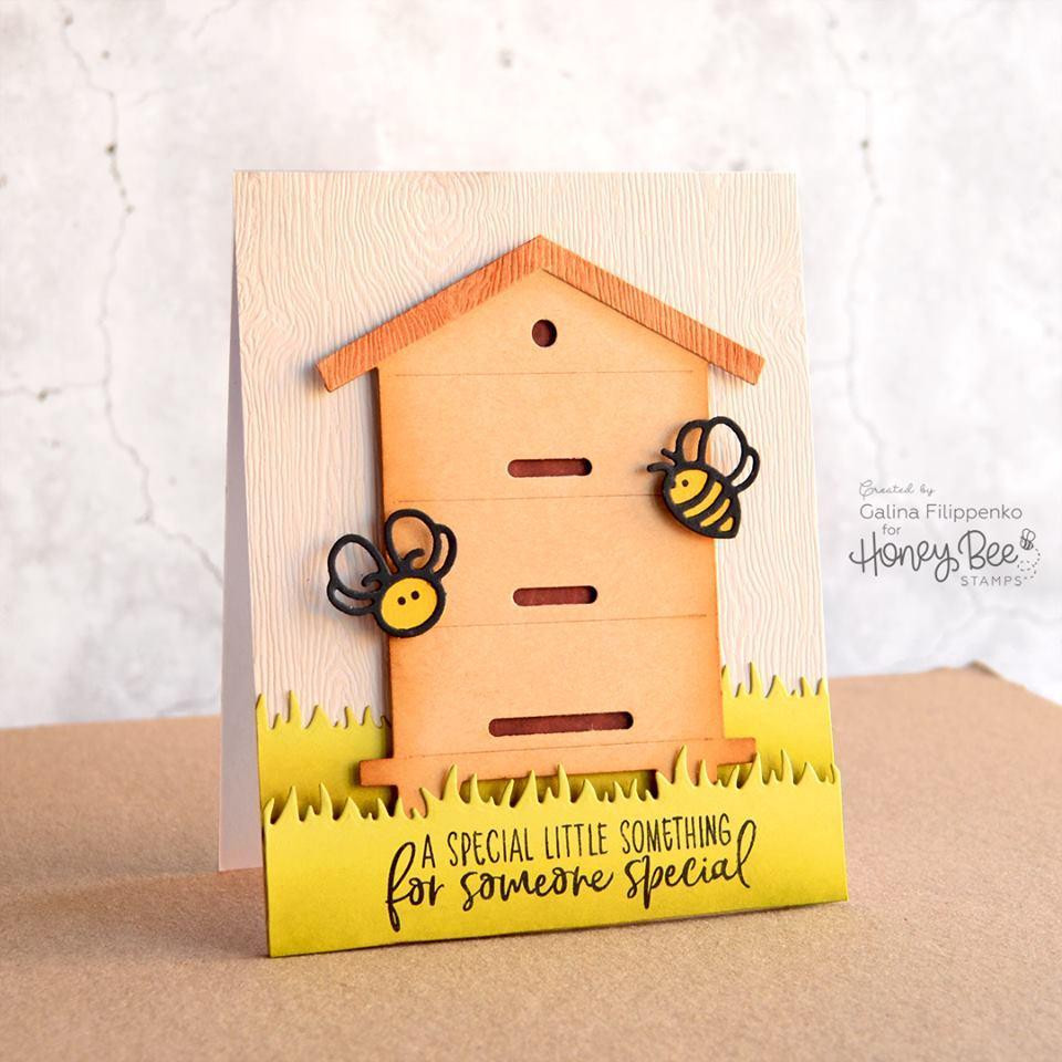 Honey Bees Paper Piecing, Honey Cuts Dies - 652827606202