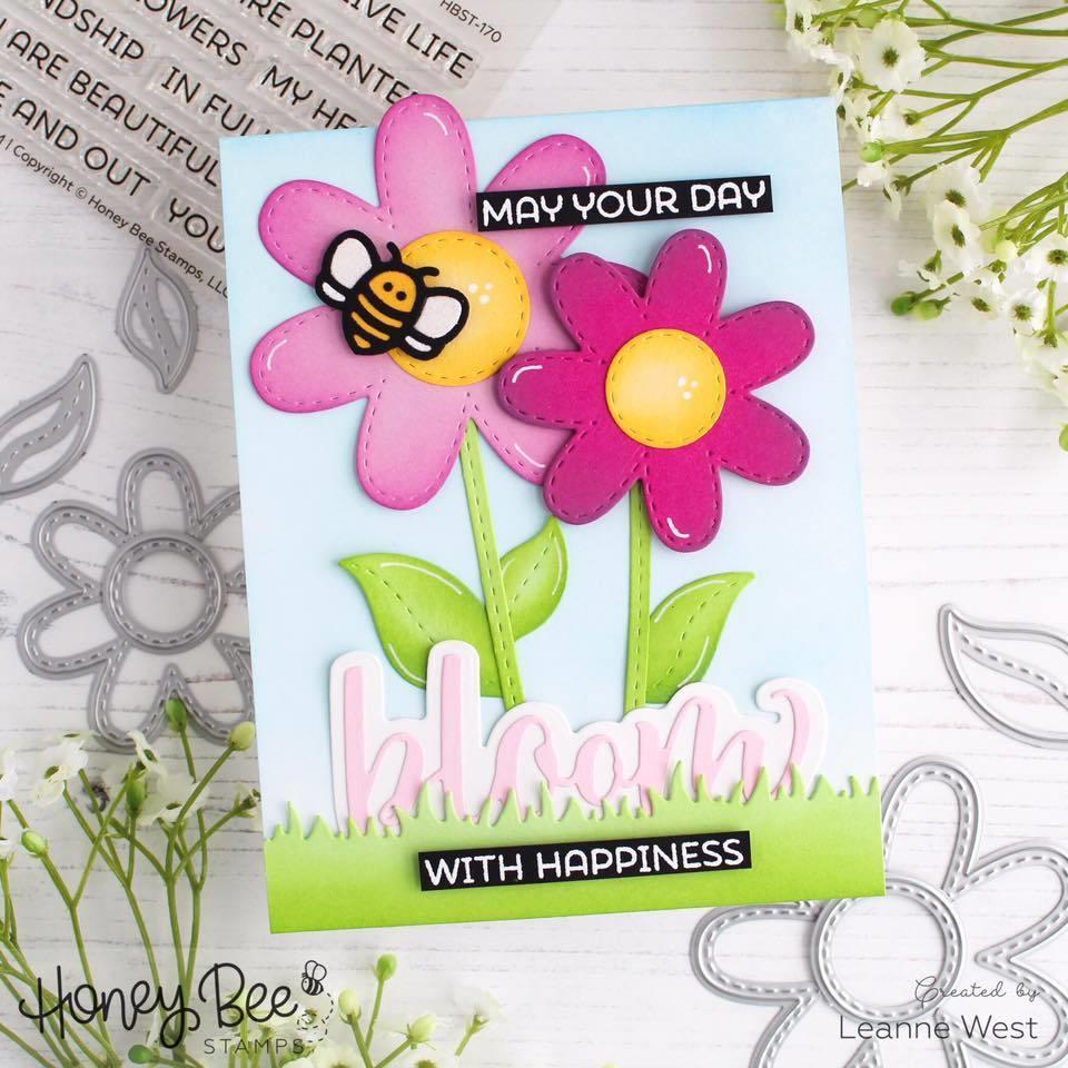 Honey Bees Paper Piecing, Honey Cuts Dies - 652827606202