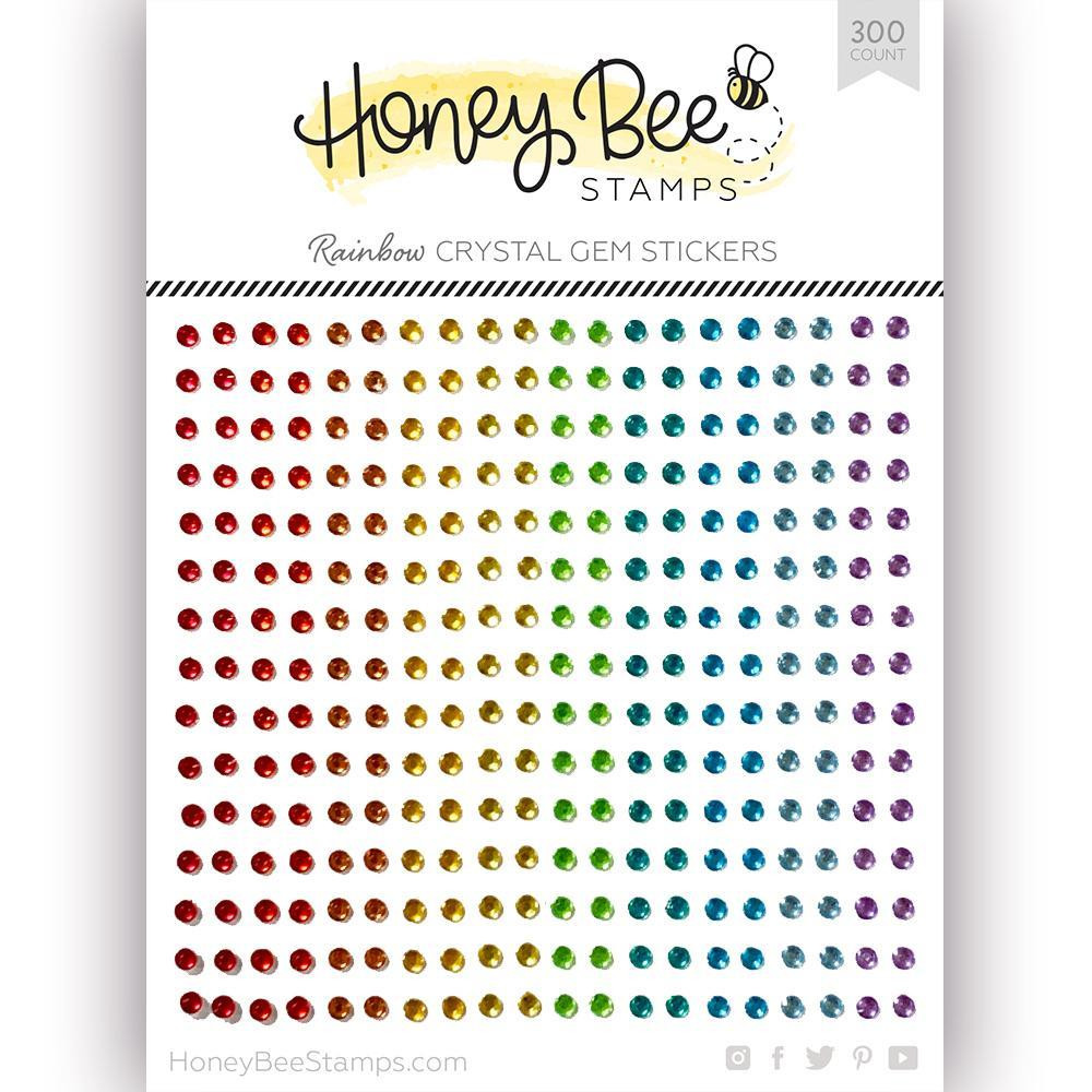 Rainbow Gem, Honey Bee Stickers -