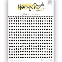 Black Gem, Honey Bee Stickers -