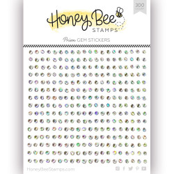 Crystal Prism Gem, Honey Bee Stickers -