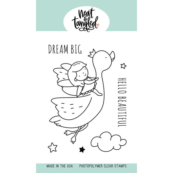 Dream Big, Neat & Tangled Clear Stamps - 817360023347