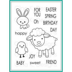 Spring Joy, Gina K Designs Clear Stamps - 609015541463