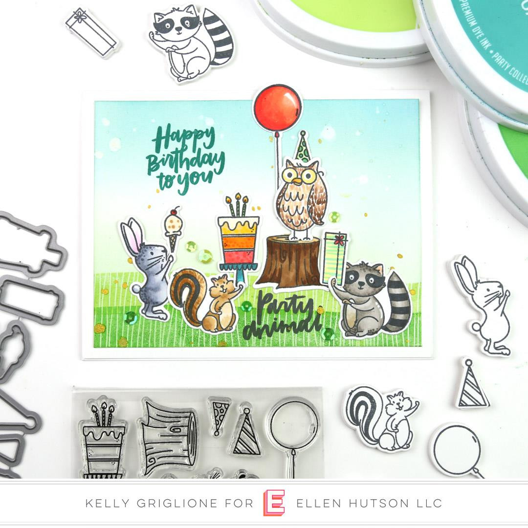 Backyard Party by Brandi Kincaid, Essentials by Ellen Clear Stamps -