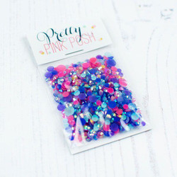 Berry Splash, Pretty Pink Posh Jewel Mix -