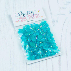 Caribbean Blue, Pretty Pink Posh Jewels -