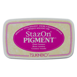 Pink Cosmos, StazOn Pigment Ink Pad - 712353830813