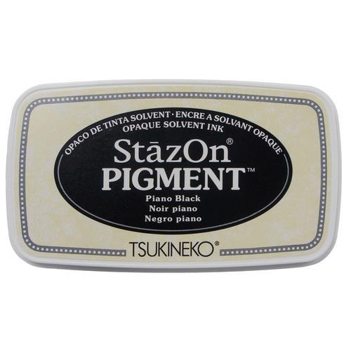 Piano Black, StazOn Pigment Ink Pad - 712353830318