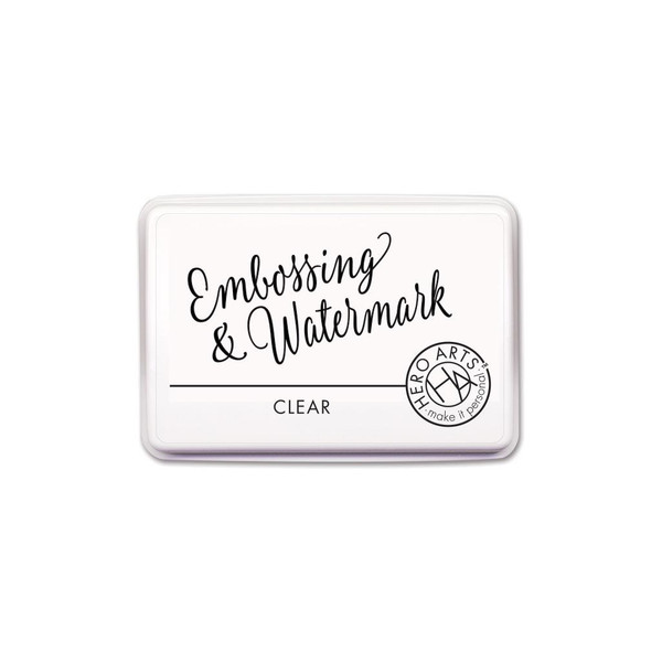 Clear Embossing & Watermark, Hero Arts Ink - 857009219168