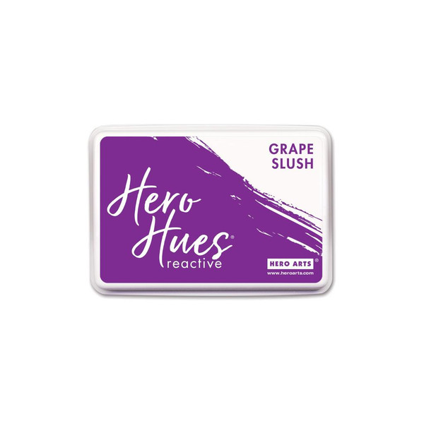 Grape Slush, Hero Arts Hero Hues Reactive Ink - 857009219854