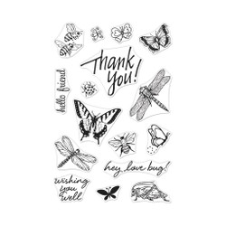 From The Vault: Bugs, Hero Arts Clear Stamps - 857009217706