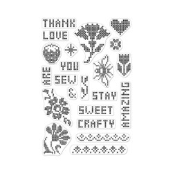 Cross Stitch Patterns, Hero Arts Clear Stamps - 857009224940