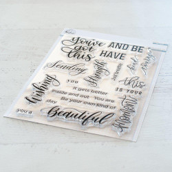 You've Got This, Pinkfresh Studio Clear Stamps - 782150201444