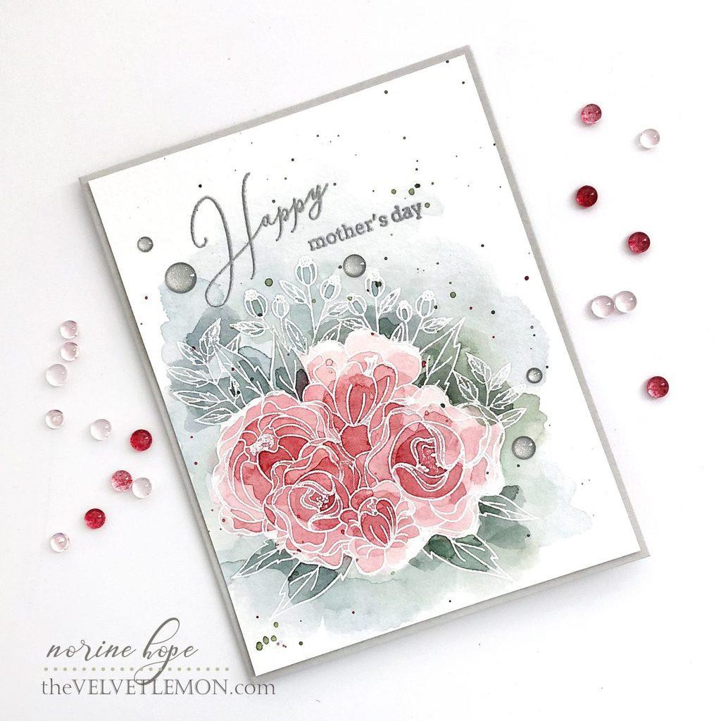 Blooming Bouquet, Pinkfresh Studio Clear Stamps - 782150201475