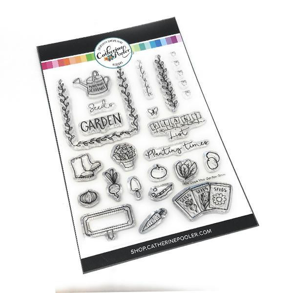 How Does Your Garden Grow, Catherine Pooler Clear Stamps - 819447020959