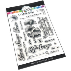 Take Courage, Catherine Pooler Clear Stamps - 819447023080