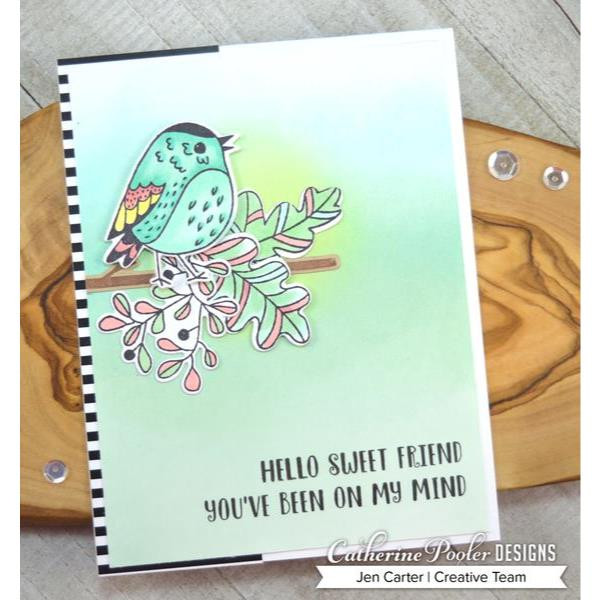 Fluttering Friends, Catherine Pooler Clear Stamps - 819447024124