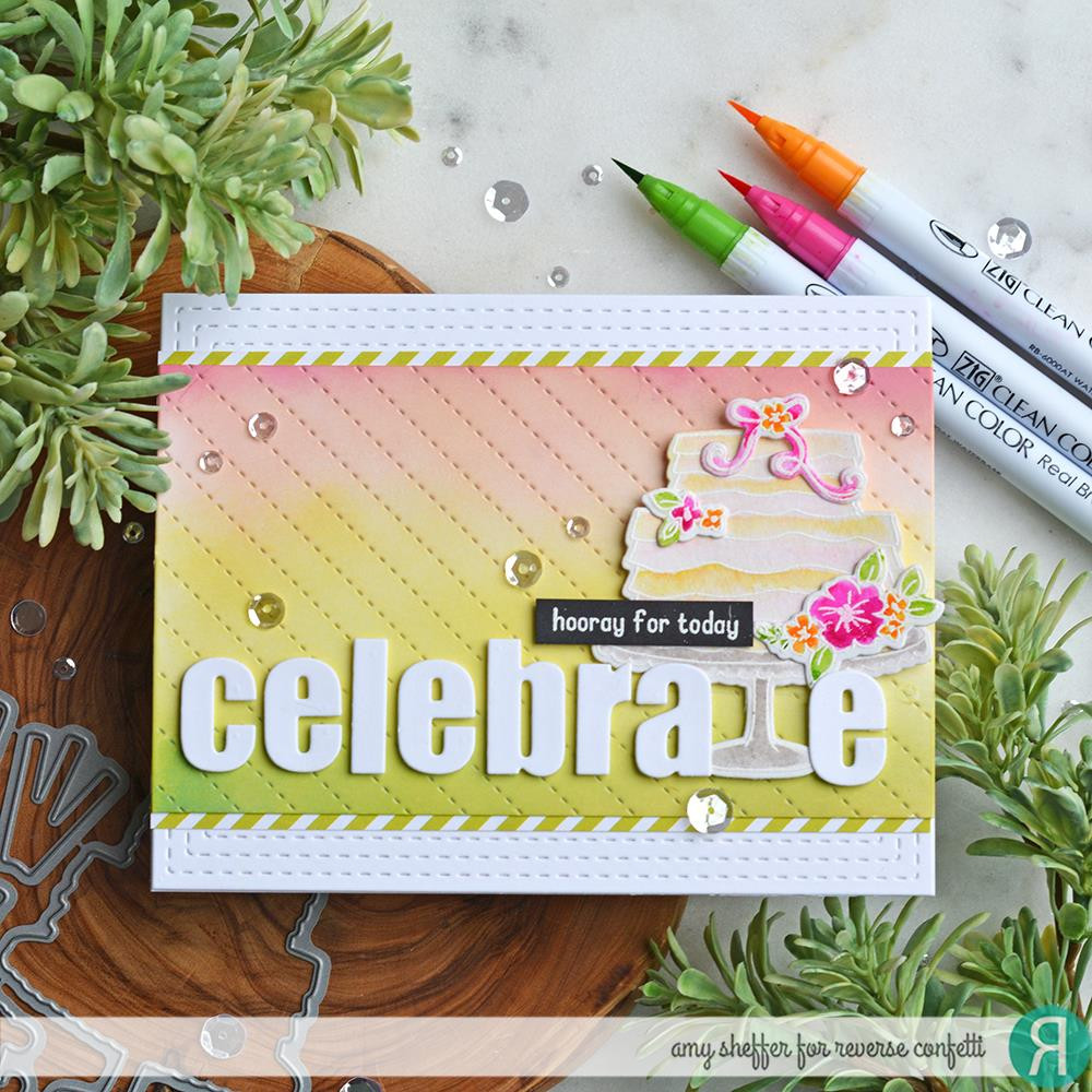 So Many Sentiments, Reverse Confetti Clear Stamps -